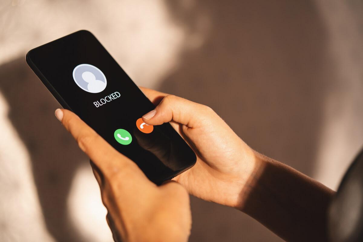 telefon mobil blocat